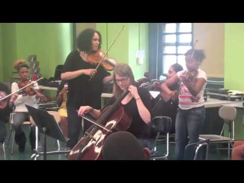 ACO Education - the PubliQuartet and the Booker T Middle School Strings