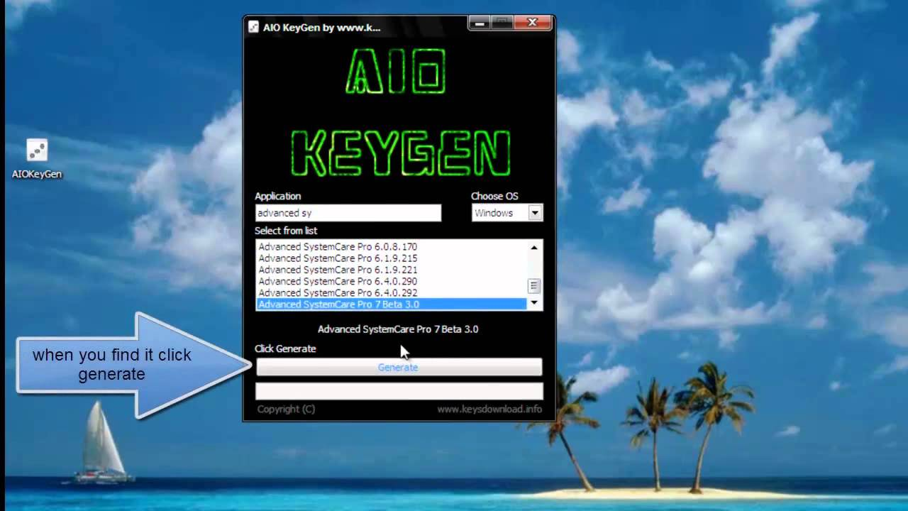 Advanced systemcare 7.3 pro crack keygen