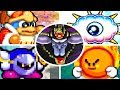 Kirby Nightmare in Dream Land - All Bosses