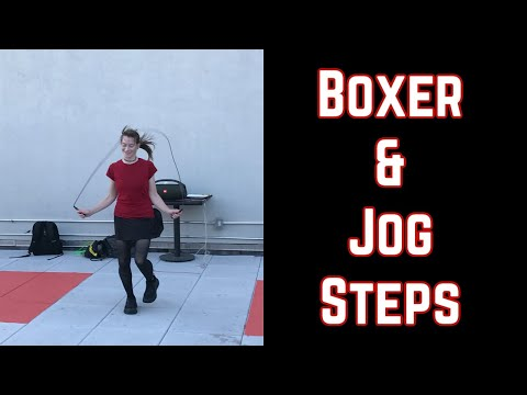 Jump Rope Made Easy: the Boxer and Jog Steps Image 1