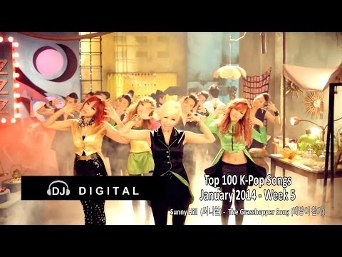 Top 100 K-Pop Songs for January 2014 Week 5