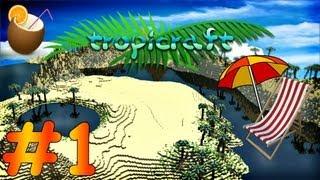 [MINECRAFT] Tropicraft [CZ] - Ep. 01 - Směr Tropicraft ᴴᴰ