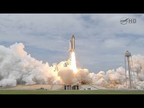 Space Shuttle Atlantis Rockets Into History as NASA Ends U.S. Space Shuttle Program (07.08.11)