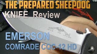 Emerson CQC-12 HD - Folding Knife Review