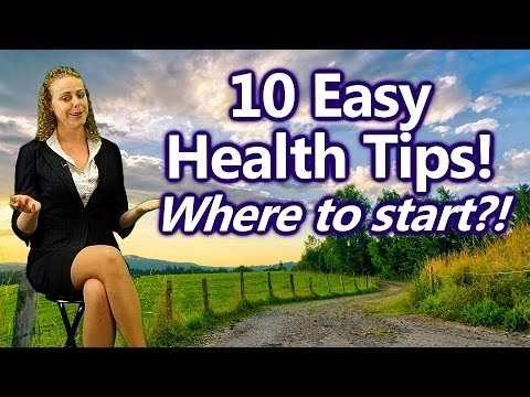 10 Easy Ways to Get Healthy for Beginners, Where to Start? Nutrition Tips | Health Coach