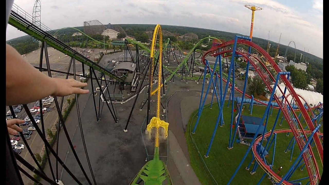 Six Flags Seats Six Flags Green Lantern Pov hd