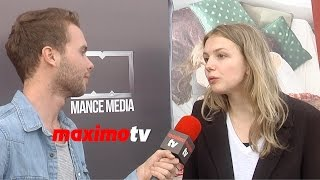 "Hannah Murray ""Social Media Is Kind Of Lame and Narcissistic"" - Exclusive!"