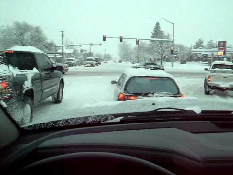 More driving around Missoula, MT on January 19th, 2012 in a snow storm.