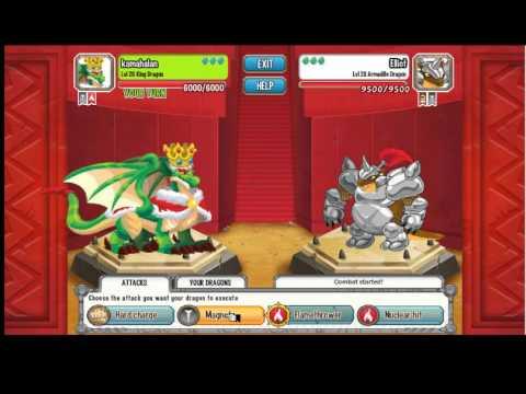 Dragon City Weakness of All Dragons Dragon City King Dragon vs