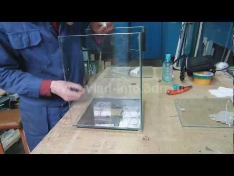 Изготовление большого аквариума своими руками 181