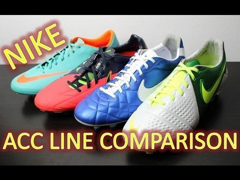 Nike ACC (All Conditions Control) Line Comparison