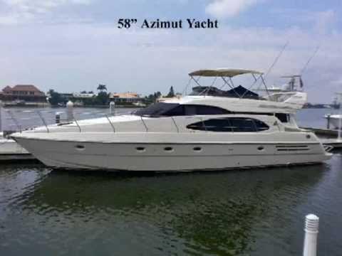 58 Azimut Flybridge Yacht. 58 Azimut Flybridge Yacht