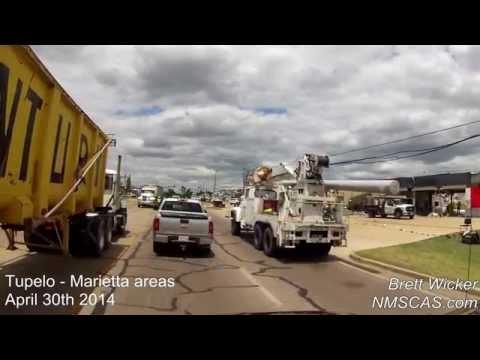 Tupelo and Marietta tornado damage