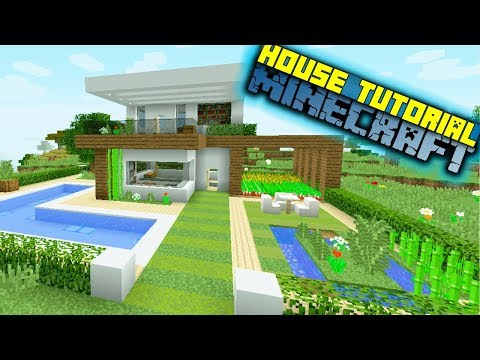 Minecraft: How to Build an Easy Modern House - House Tutorial