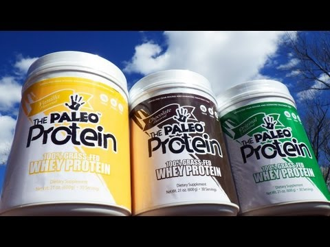 Paleo Protein™ Ultimate Grass Fed Whey Protein