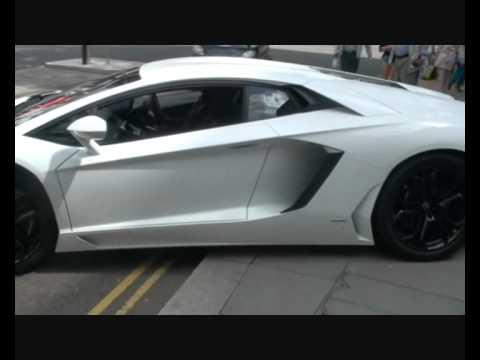 Lamborghini Aventador Crazy Parking Skills   London