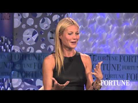 Gwenyth Paltrow: Actress and Accidental Entrepreneur | Fortune MPW