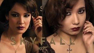 Skyfall - Skyfall 007 James Bond Movie : Serevine Bond Girl Makeup, Hair, Fashion