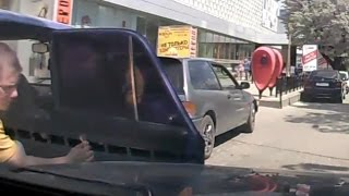 Drivers idiots or broken doors/ Car crash compilation 2015