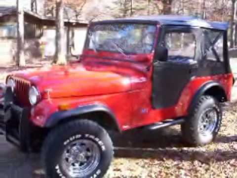 1975 Jeep CJ5 Renegade http://johnnystube.net/v/KBahKAJqHzw