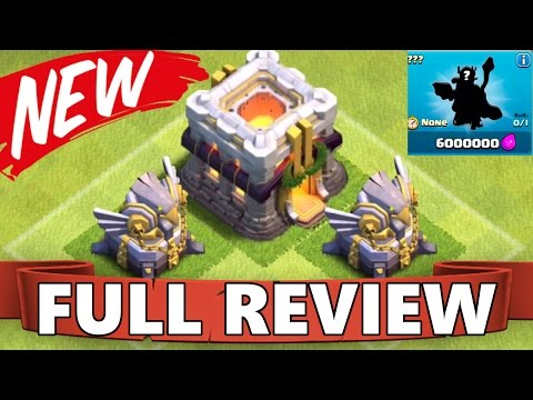 FULL UPDATE REVIEW TOWN HALL 11   NEW UPDATE HERO   NEW DEFENSE + HIDDEN FEATURES CoC 2015
