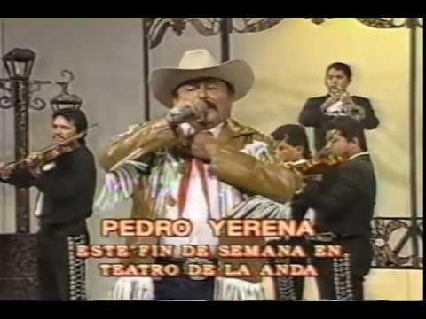 Pedro Yerena con mariachi en