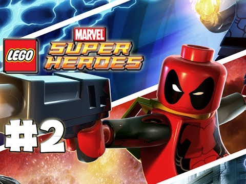 LEGO Marvel Superheroes - LEGO BRICK ADVENTURES - Part 2 - DEADPOOL! (HD Gameplay Walkthrough)