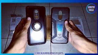 Unboxing Calandiva Ring Carbon Case Xiaomi Redmi 5 Plus Black - #MRPSUBX #35