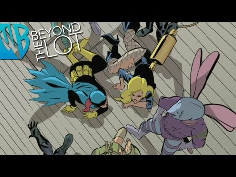 Batgirl Year One Motion Comics 6: Birds of Prey, Pt. 2