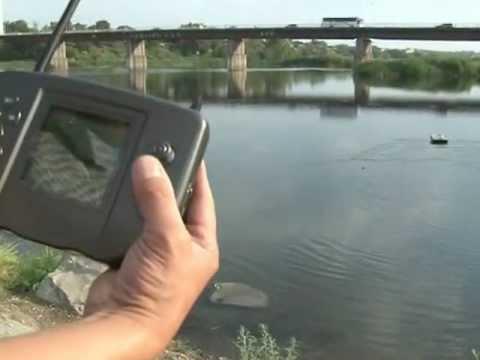 видеоролики рыбалка с эхолотом