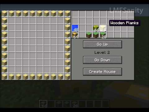 ▶ Minecraft House Builder