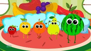Five In The Bed Fruits | Fruits Song | Learn Fruits | Nursery Rhymes | Baby Song