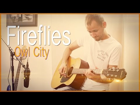 Owl City - Fireflies (Acoustic Instrumental) | Jake Weber Cover...