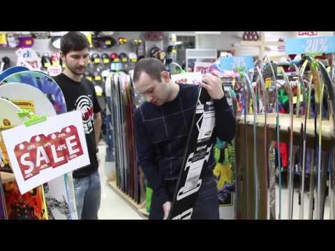 Видео как выбрать сноуборд для начинающих
