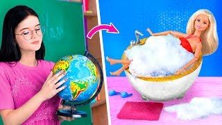 Never Too Old For Dolls / 7 DIY Barbie Furniture Out Of School Supplies