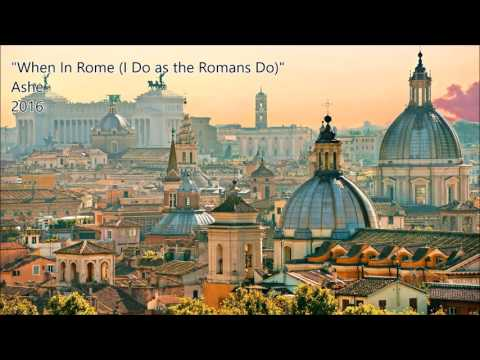Barbra Streisand - When in Rome (i do as The Romans Do)