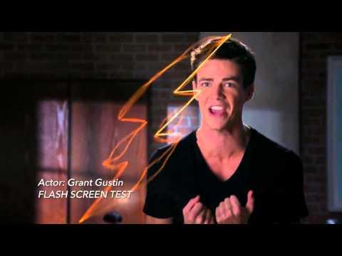 The Flash - Grant Gustin Screen Test