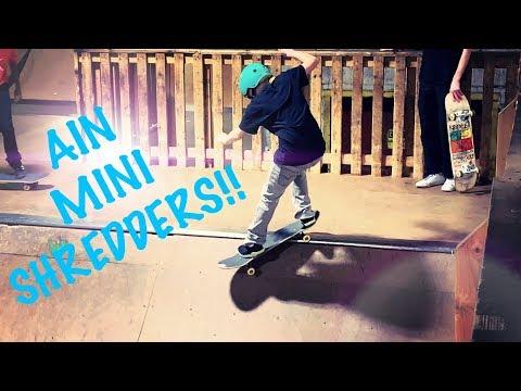 AIN mini SHREDDERS
