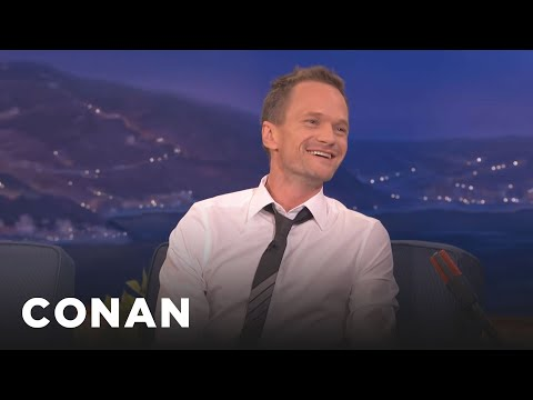 Neil Patrick Harris Bares All About His Sex Scenes  - Conan On Tbs video