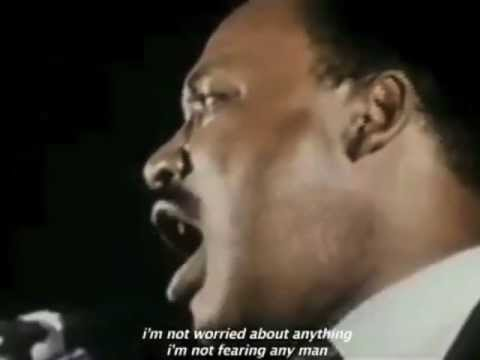 Martin Luther King Jr Sings