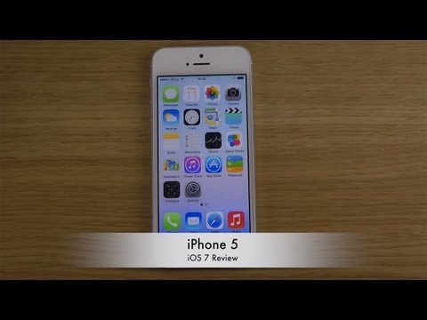 iPhone 5 - iOS 7 Review