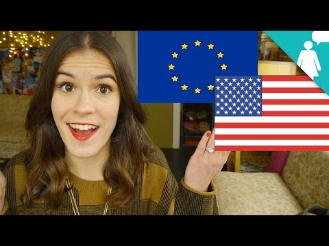American Girls vs. European Women