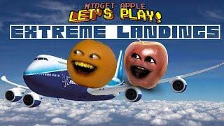 Midget Apple - Extreme Landings! w/ Annoying Orange