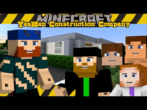 Minecraft | YesMen Construction Company | #4 YESMEN OFFICES