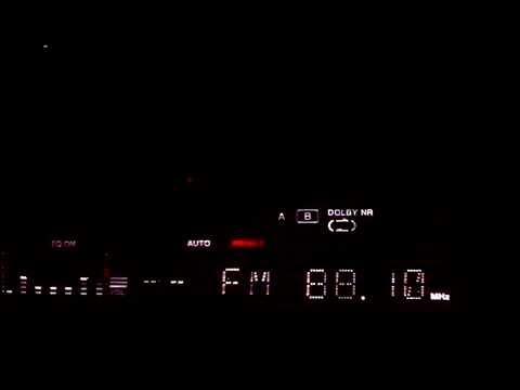 Info Radio Budapest vs. Radio Batna Algeria on 88.1 MHz