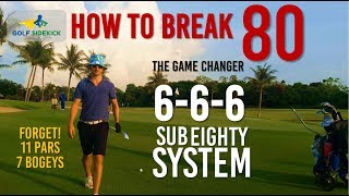 How to Break 80 – FORGET what you know - 666 Process Based Thinking To Break 80 (Thai Country Club)