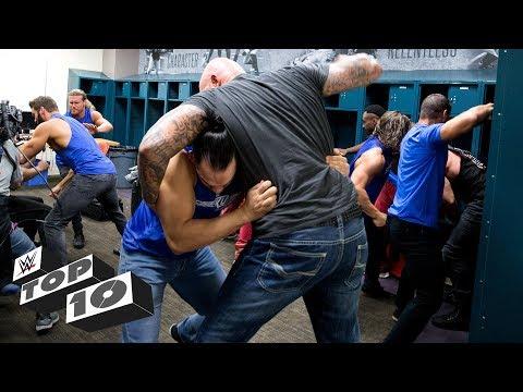 Wildest locker room brawls: WWE Top 10, March 19, 2018 thumbnail