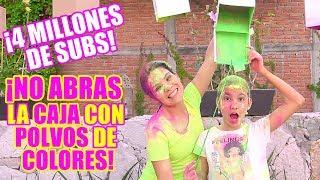 No ABRAS la CAJA con POLVOS de COLORES | TV Ana Emilia