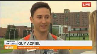 RIT on TV: Move-in Day, with orientation team members