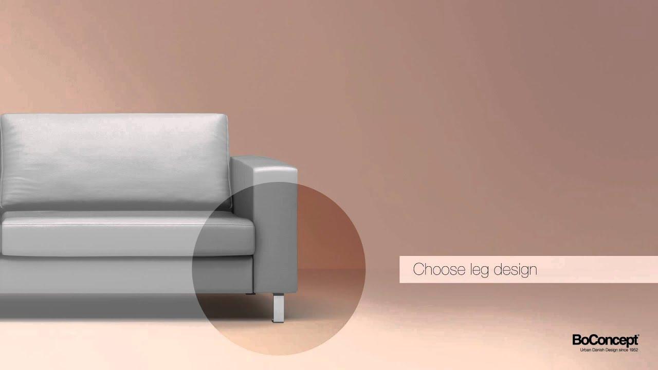 BoConcept Indivi 2 Sofa Lounge Suite 3D Demo